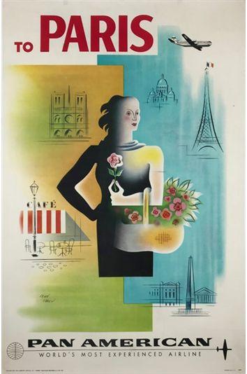 "-  LAS VEGAS - TWA ------- Airline 8.5/"" X 11/""  Travel Poster"