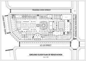 Morin 5 Star Hotel Hue Vietnam 2013 On Wacom Gallery Hotel Floor Plan Hotel Plan Hotel Lobby Design
