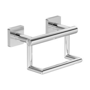 Symmons Duro Wall Mounted Toilet Paper Holder In Polished Chrome 363gbtp The Home Depot Toilet Paper Holder Wall Mounted Toilet Symmons