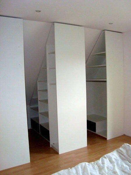 Inspirational Ikea Schrank Dachschrage Ankleidezimmer Ankleidezimmer Dachschrage In 2020 Schrank Dachschrage Kleiderschrank Fur Dachschrage Dachschragenschrank