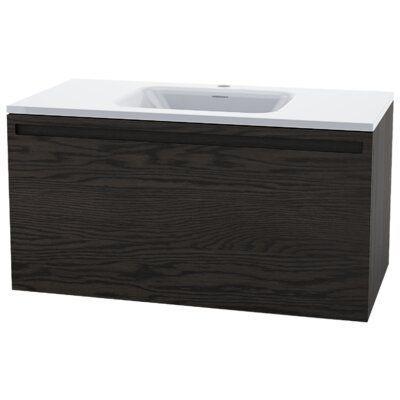 Wetstyle Element Raffine 39 Wall Mounted Single Bathroom Vanity
