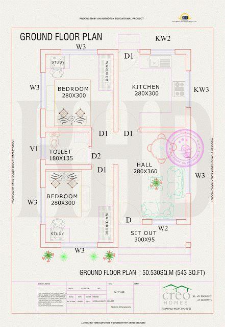 plan de maison kerala