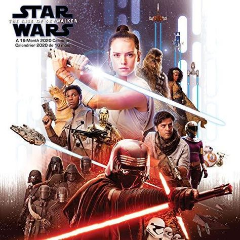 Star Wars Episode IX 2020 Calendar (English and French Edition) - Default