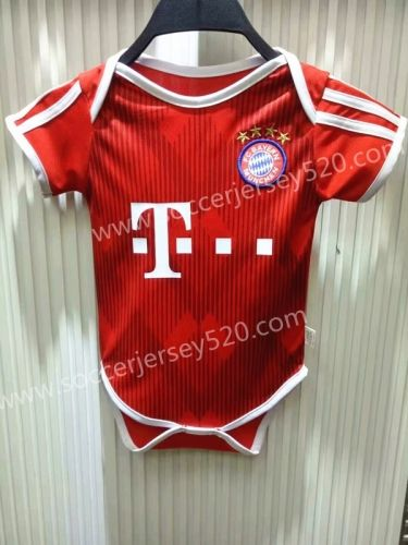 the latest b2781 d3a6f 2018-19 Bayern München Home Red Baby Soccer Uniform | Youth ...