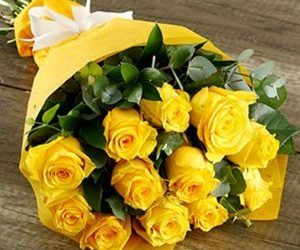 Happy Valentine S Day Yellow Rose Flower Yellow Roses Rose
