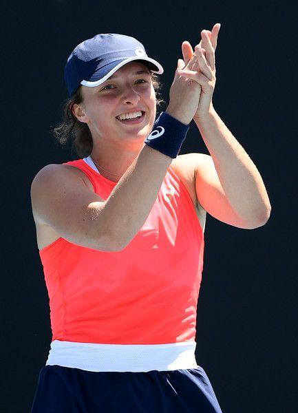 Iga Swiatek Photos Photos 2020 Australian Open Day 6 In 2020 Iga Womens Tennis Australian Open