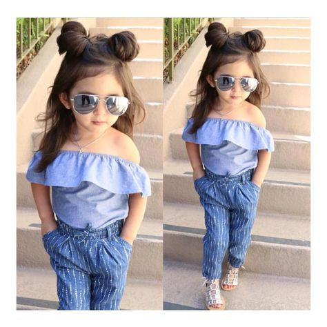 Pin By Kalyani Ginimav On Babies Cute Little Girls Outfits