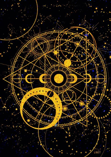 Line Art, Magic Symbols, Occult Art, Moon Art, Galaxy Wallpaper, Sacred Geometry, Constellations, Aesthetic Wallpapers, Art Inspo