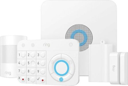 Ring Alarm Home Security Kit White 4k11s7 0en0 In 2020 Smart Home Security Home Security Wireless Home Security Systems