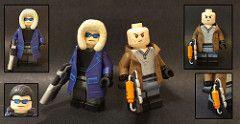 Custom Lego Cw Captain Cold And Heatwave Captain Cold And Heatwave Custom Lego Lego