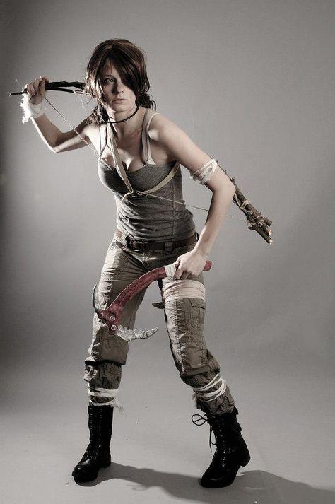 First Photos of Alicia Vikander as Lara Croft Shooting