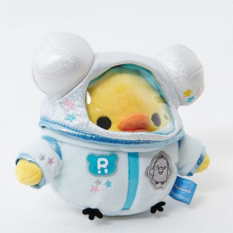 kawaii plush stuffed toys - cuddly and furry friends Rilakkuma Astronaut Plushie (Kiiroitori) Kawaii Plush, Cute Plush, Cute Stuffed Animals, Cute Animals, Dinosaur Stuffed Animal, Sewing Stuffed Animals, Softies, Plushies, Rilakkuma Plushie