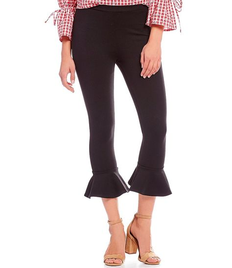 c54d8d2db5f Women s Crop Flare Pants - Prologue Black Xxl