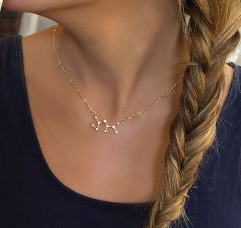 Sagittarius Constellation Zodiac Necklace (11/23-12/22) - My Jewel Candy - 1