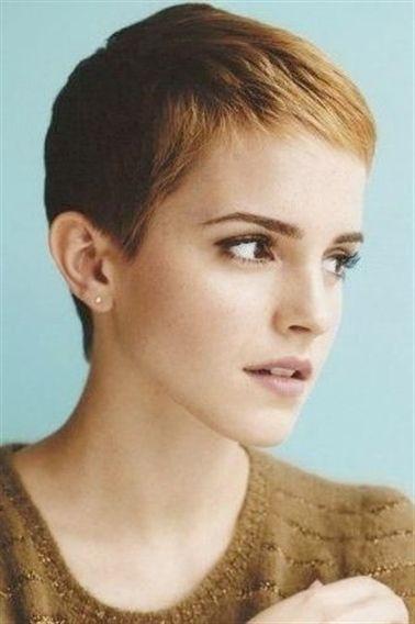 Emma Watson Short Hair Short Hair Styles Super Short Hair