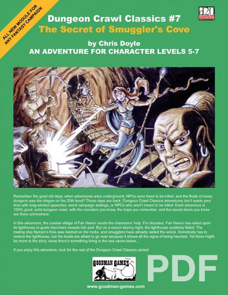 Dungeon Crawl Classics #7: The Secret of Smuggler's Cove – PDF