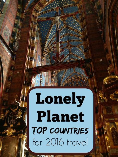 Lonely Planet Country Picks for 2016 - Traveling Mom