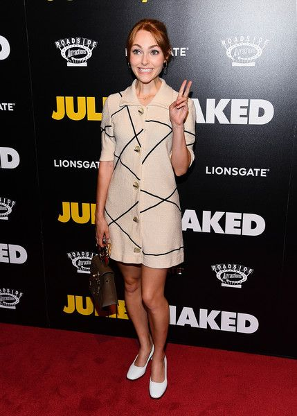 AnnaSophia Robb attends the 'Juliet, Naked' New York Premiere at Metrograph.
