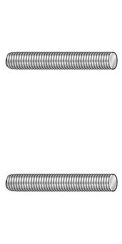Fastener Assortments 180978 1 4 28 X 6 Plain 316 Stainless Steel Threaded Rod Buy It Now Only 17 34 On Ebay Fas 316 Stainless Steel Steel Black Oxide