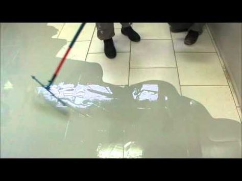 Como revestir ceramica com epóxi (41) 8856-0305 (porcelanato líquido) - YouTube