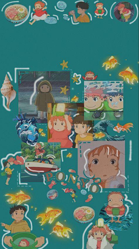 Ponyo aesthetic wallpaper