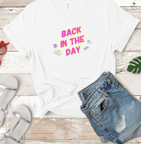 90s Nostalgia- Back in the Day Tshirt   1990s   Candy Necklace   Floppy Disk   VHS   Old School   Neon                                                                          #fashion #90s #instagram #instadaily #instagood #instamood #smile #fun #style #retro #fashionista #girl #friends #art #summer #selfie #me #follow #tbt #picoftheday #photography #cute #happy #photooftheday #love #summer #fashionista #fashionstyle #artist #drawing #photo #photos