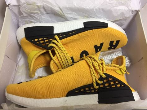 Adidas PW Human Race NMD Pharrell Williams Yellow BB0619