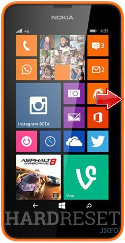 Hard Reset Nokia Lumia 630 Dual Sim Phone Windows Phone