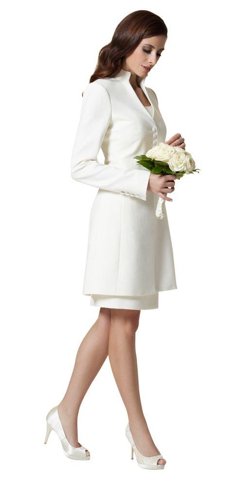 Zeitlos elegant | Hochzeit kleidung, Standesamtliche ...