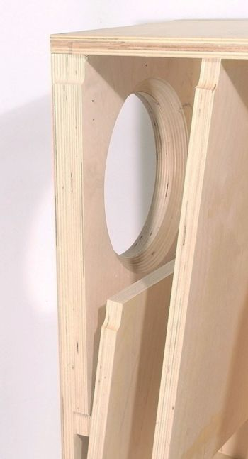Fostex Bk 20 Folded Horn Kit Pair Box