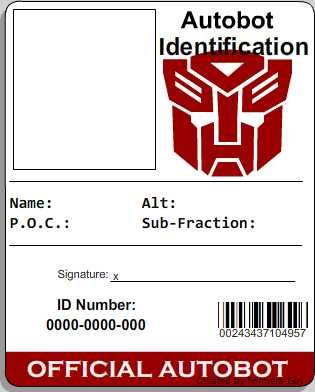 Umbrella Id By TheTwelveGates On Deviantart  Cosplay Id Card