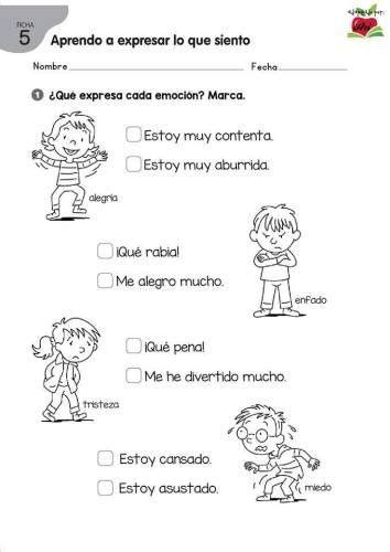Lecturas Para Trabajar Las Emociones En Primaria Y Primer Emociones Inteligencia Emocional Para Ninos Emociones Preescolares