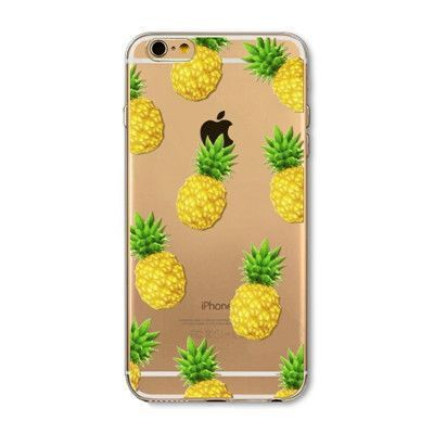 Novelty Fundas Phone Case Cover For Apple iPhone 6 6S Fruit ...