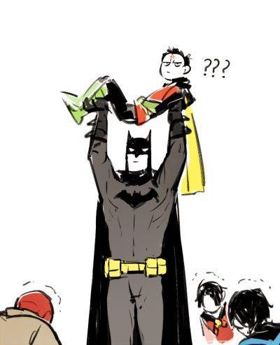 Batboys Imagines - Tell the news to her dad | Random | Bat family