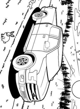 Ford F150 Coloring Pages Color Activities Printables Kids