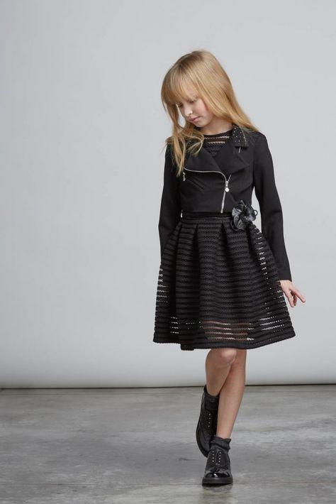 Abiti Eleganti Ragazzina.Elsy Bambine Fw16 17 La Moda Versatile E Chic Moda Ragazzine