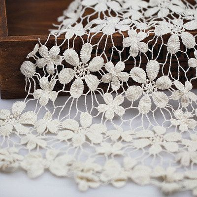 * Width: 47.2(120cm)    * Soft and comfortable handfeel    * Wholesale accetpable !    Features: Brand new lace fabric, top quality and easy to use.    This listing is for 1 yard, We offer continued lace without cutting them to pieces if you buy more,      Shipment:    - Standard: By