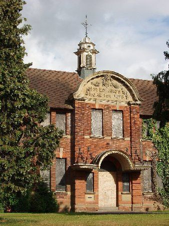 Saint Edward's Home for Boys, built in 1904 and owned by the Catholic Church. Althougth primarily a home for orphaned and abandoned boys it was also a school. It it located in Coleshill, Birmingham, England. It closed in 1996.