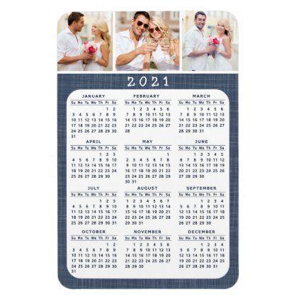 2021 Magnetic Refrigerator Calendar