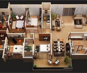 Decor Units Modern 4 Bedroom House Plans Simple House Plans House Flooring House Floor Plans