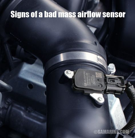 Signs Of A Bad Mass Airflow Sensor In A Car Automotive Repair Automotive Mechanic Auto Repair
