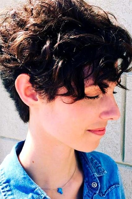 90 Easy Hairstyles For Naturally Curly Hair Styling Kurzes Haar Haar Styling Lockige Frisuren