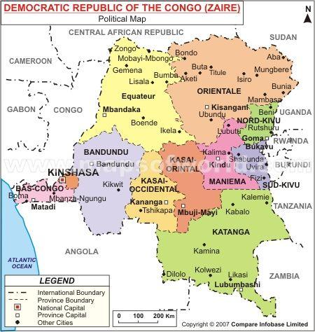 Congo Map Random Stuff Congo Congo Kinshasa Africa Map