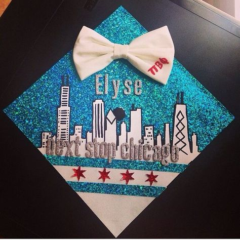 Chicago grad cap