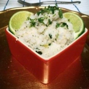 Cilantro Lime Cauliflower Rice (great for all phases)