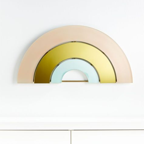 Rainbow Mirror Decor + Reviews | Crate and Barrel