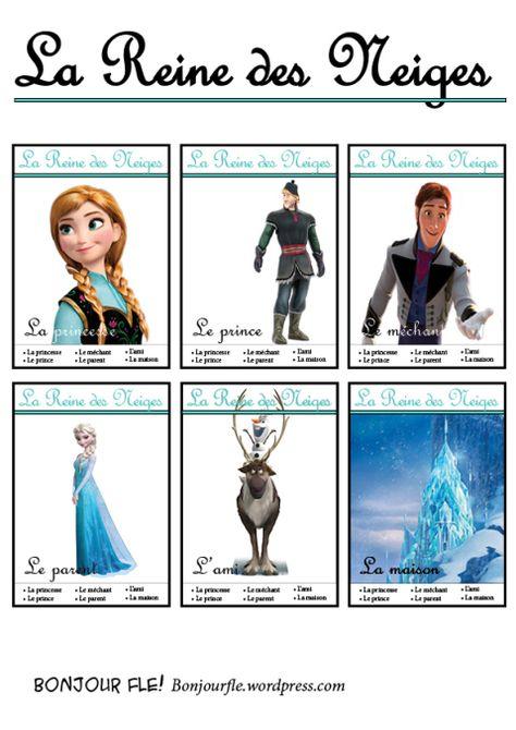 jeu de 7 familles with Disney characters!
