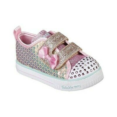 Advertisement(eBay) Skechers Infant Girls' Twinkle Toes