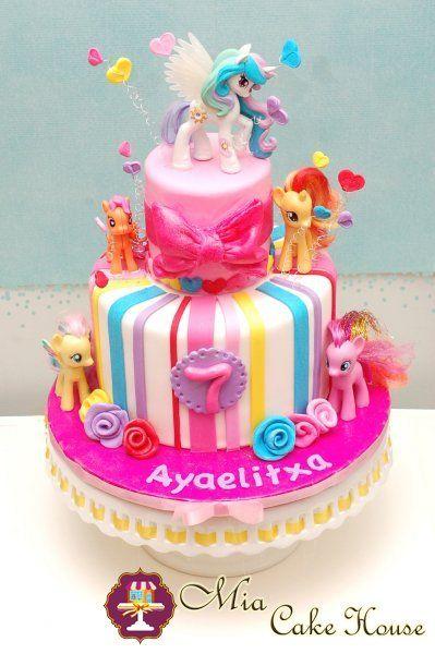 My Little Pony Cake Fantasy Party In 2019 Pinterest Little