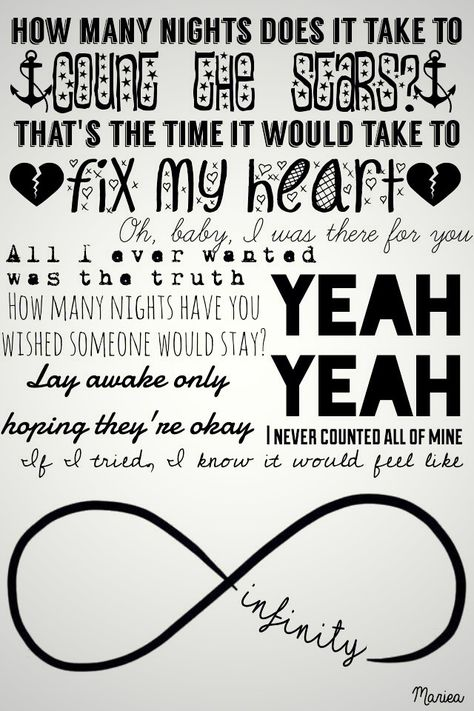 One Direction - Infinity ❉ Pinterest: XperriediseX